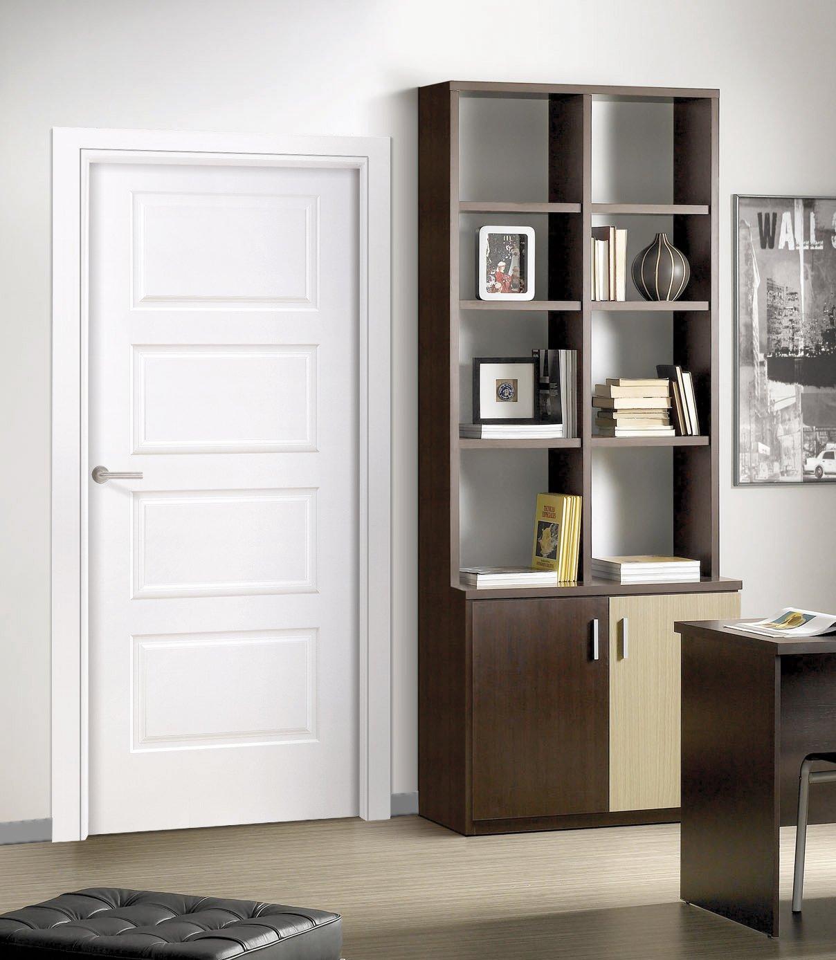Puertas lacadas en blanco trendy puertas lacadas en - Puertas de interior lacadas en blanco precios ...