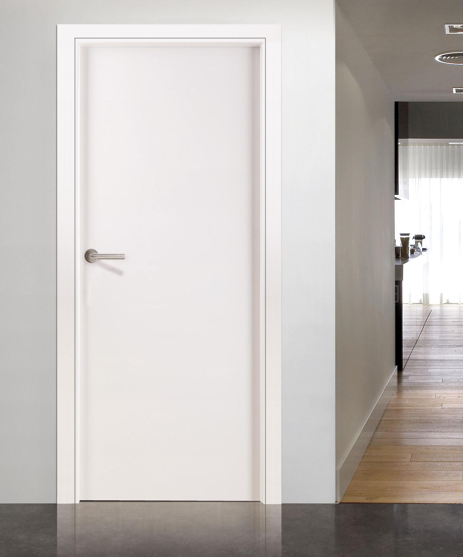 Puertas lisas lacadas en blanco excellent affordable cheap reforma con puertas lacadas reformas - Puertas lisas blancas ...