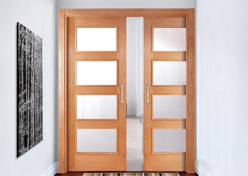 Tipos de puertas interiores fabulous instalacin de for Tipos de puertas de interior