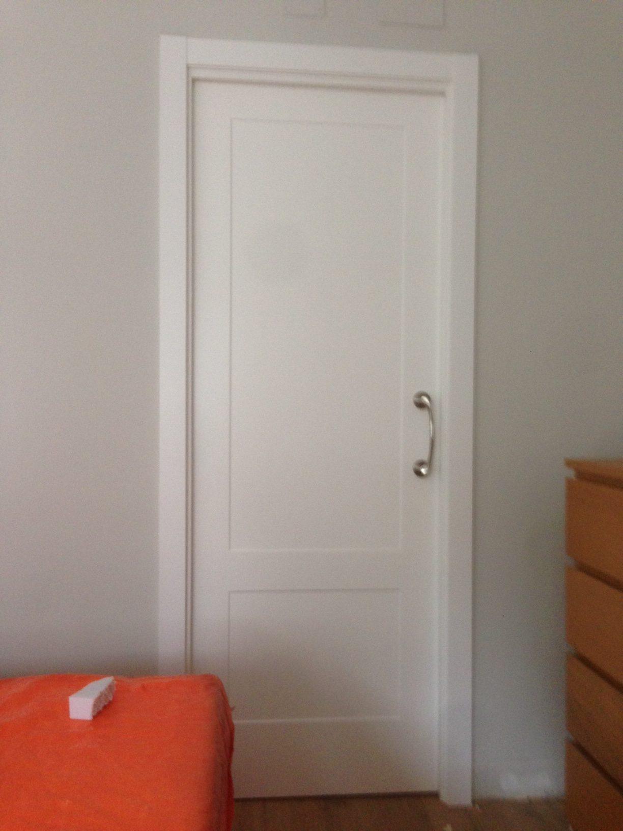 Puertas lacadas fresadas 3d for Puertas macizas blancas