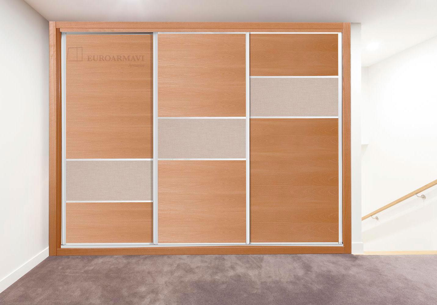 Poner puertas correderas armario empotrado con armario empotrado de puerta corredera with - Montar puerta corredera ...