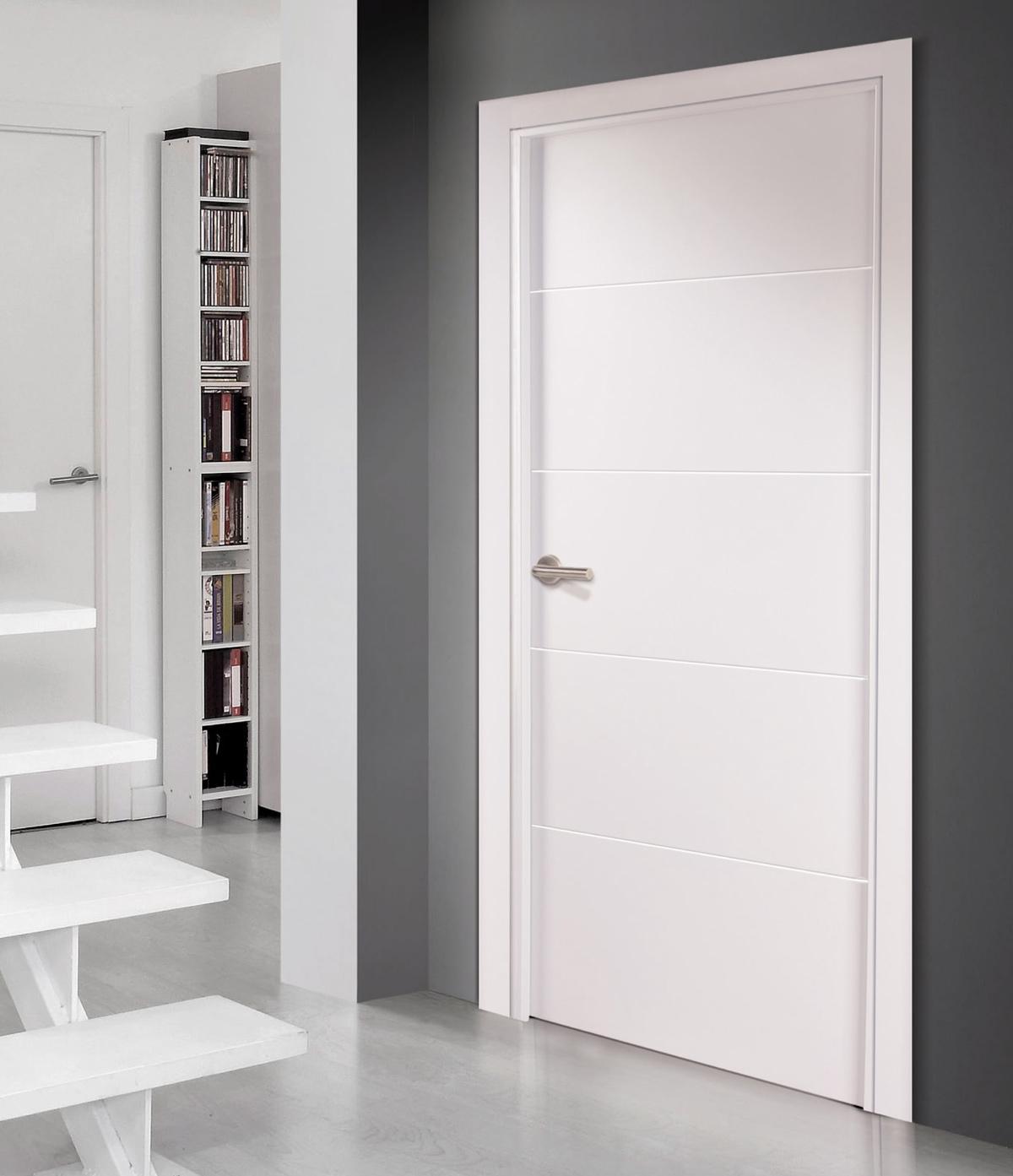 Combinar puertas blancas for Puertas dm lacadas en blanco