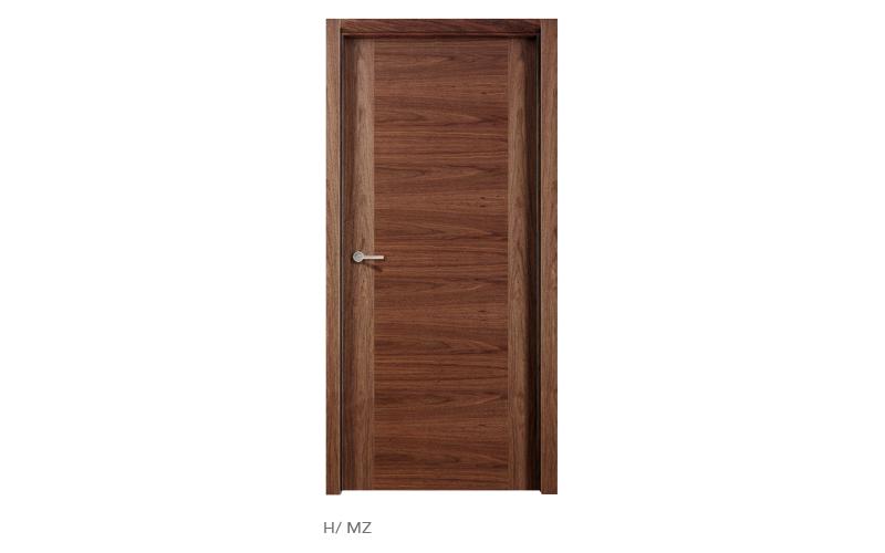 H MZ puertas de madera modelo H