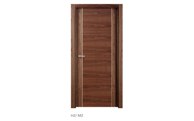 H2 MZ puertas de madera modelo H