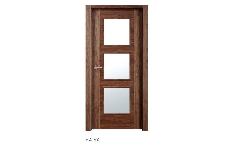 H2 V3 puertas de madera modelo H