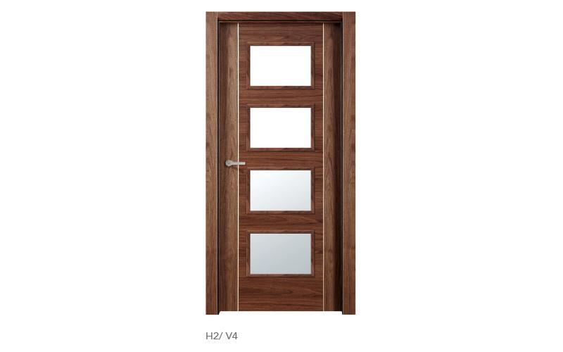 H2 V4 puertas de madera modelo H