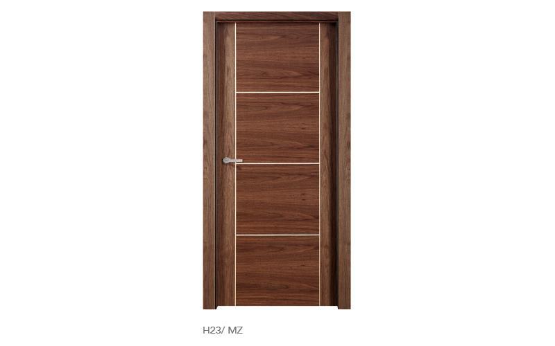 H23 MZ puertas de madera modelo H