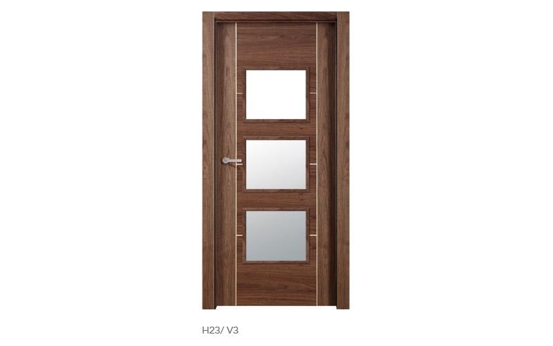 H23 V3 puertas de madera modelo H