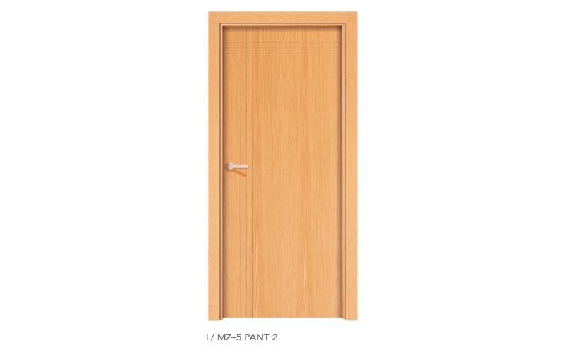L MZ5 Pant 2 puertas de madera pantografiadas