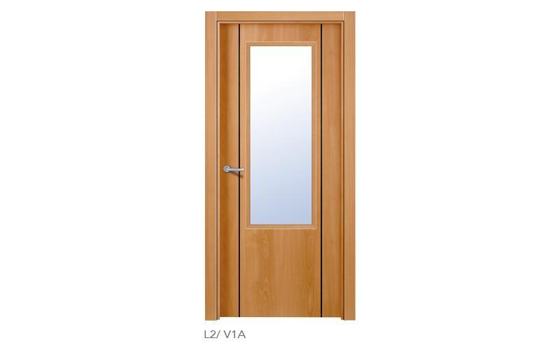L2 V1 Puertas lisas de madera