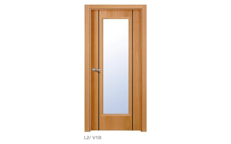 L2 V1B Puertas lisas de madera