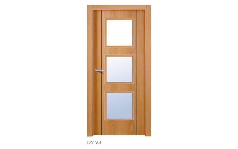 L2 V3 Puertas lisas de madera