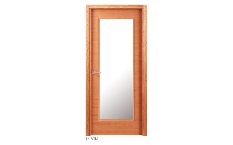 T V1B Puertas de madera lisas