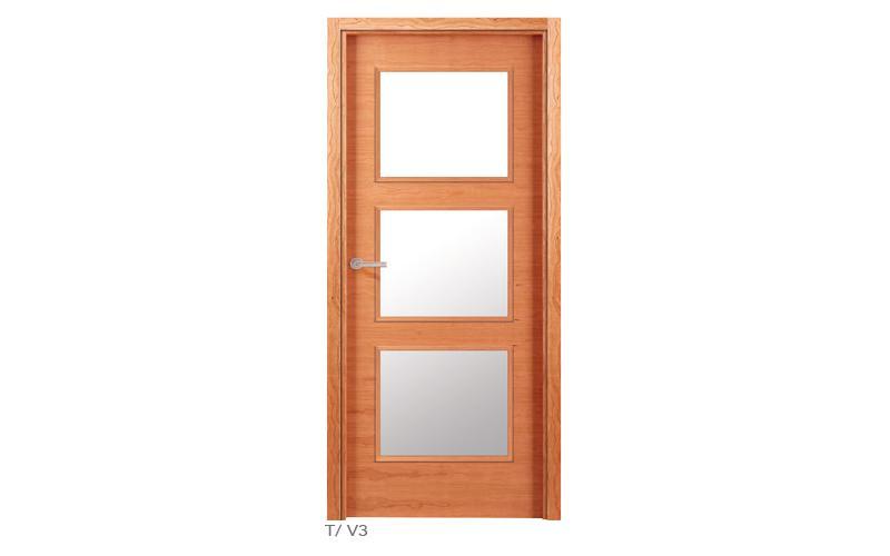 T V3 Puertas de madera lisas