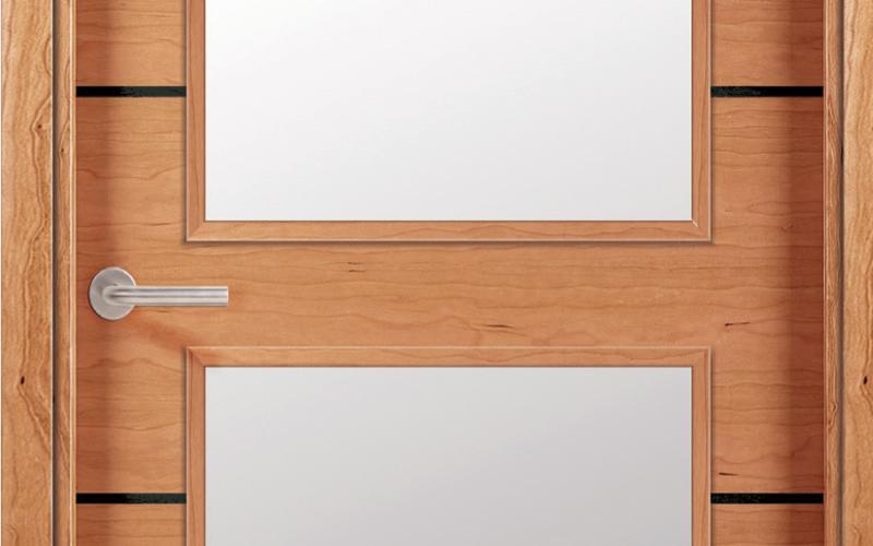 T detalle Puertas de madera lisas