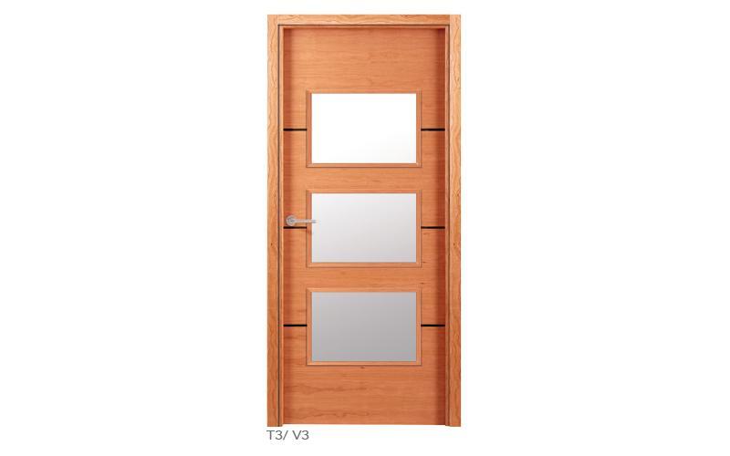 T3 V3 Puertas de madera lisas