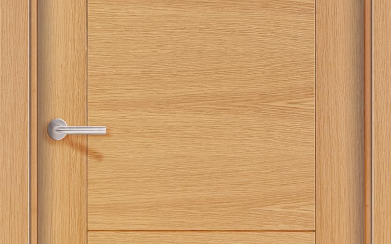detalle 2 puertas de madera pantografiadas