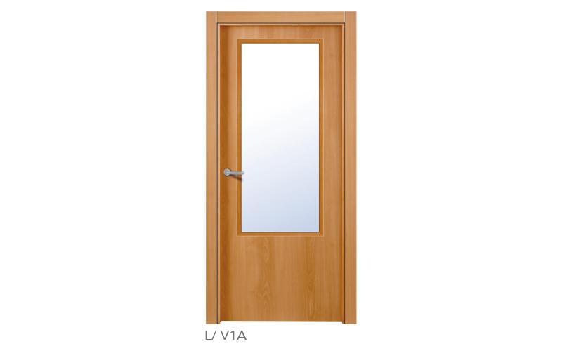 lisa V1A Puertas lisas de madera
