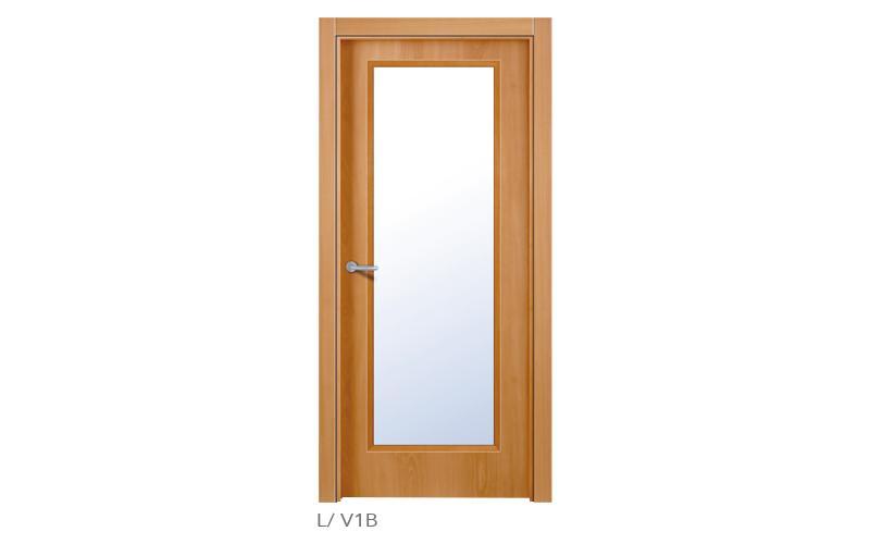 lisa V1B Puertas lisas de madera
