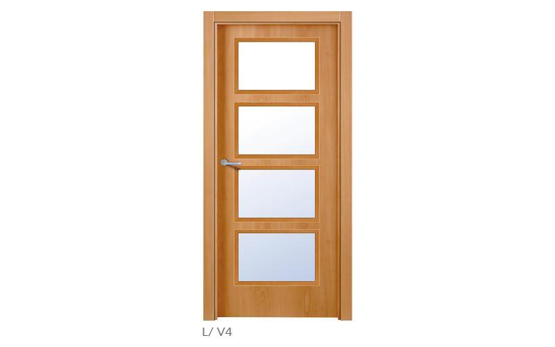 lisa V4 Puertas lisas de madera