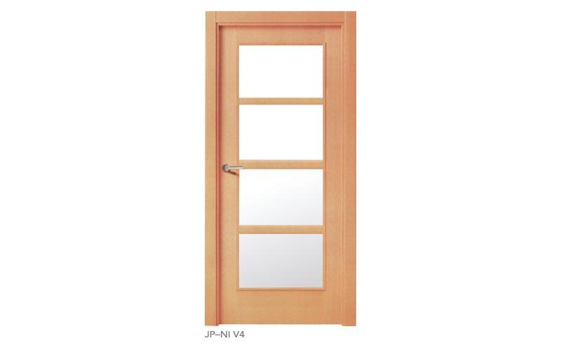 JP NI V4 Puertas de madera japonesas
