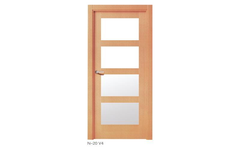 N 20 V4 Puertas de madera japonesas